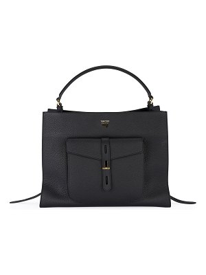 TOM FORD Small Leather Top Handle Bag
