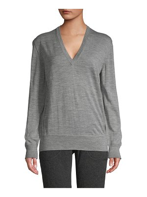 Tomas Maier Heathered Wool Sweater