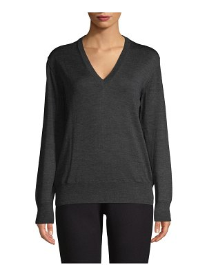 Tomas Maier Textured Wool Sweater
