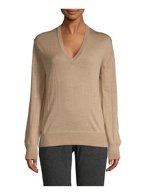 Tomas Maier V-Neck Wool Sweater