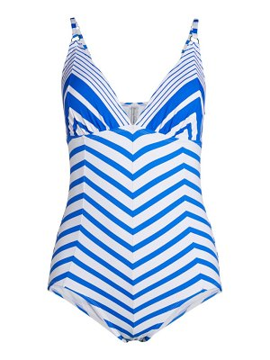 Tommy Bahama Beach Glass Stripe One-Piece Swimsuit
