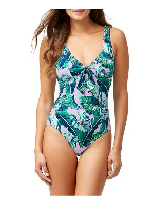 Tommy Bahama Breezy Palm Reversible One-Piece Swimsuit