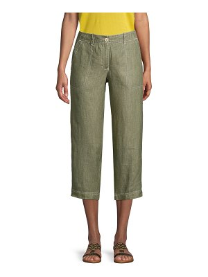 Tommy Bahama Cropped Linen Pants