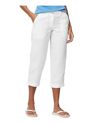 Tommy Bahama Cropped Zip Fly Pants