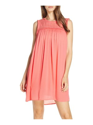Tommy Bahama eyelet yoke cover-up dress