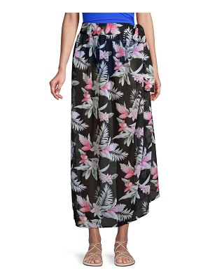 Tommy Bahama Ginger Flower Side-Tie Coverup