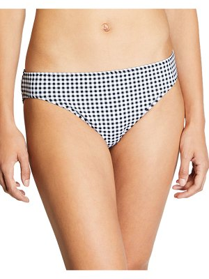 Tommy Bahama Gingham Reversible Hipster Swim Bottom