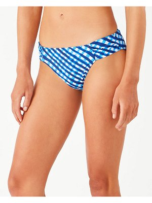 Tommy Bahama Harbour Island Reversible Shirred Hipster Bikini Bottom