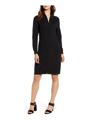 Tommy Bahama pickford rib full zip sweater dress