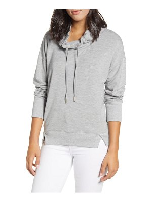 Tommy Bahama silky sands funnel neck popover top