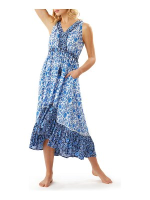 Tommy Bahama woodblock cover-up dress