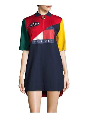 Tommy Hilfiger Collection colorblock polo dress