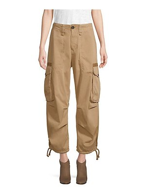 Tommy Hilfiger Collection cropped cotton cargo pants