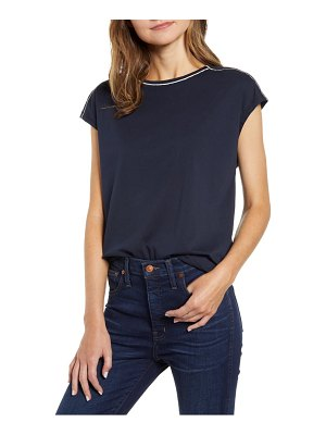 Tommy Hilfiger contrast neck tee