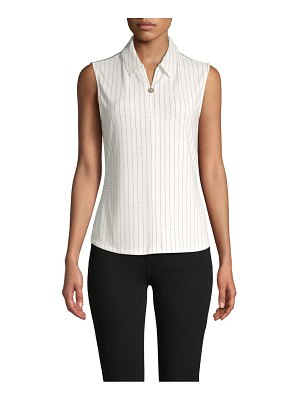 Tommy Hilfiger Dash Stripe Sleeveless Top