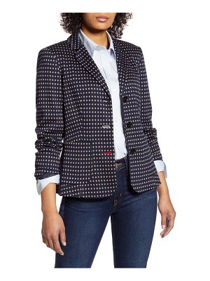 Tommy Hilfiger dot patch pocket blazer