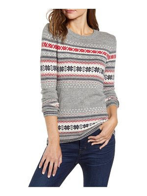 Tommy Hilfiger snowflake fair isle sweater