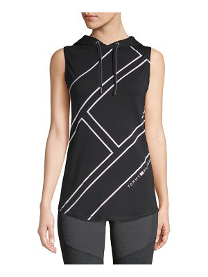 Tommy Hilfiger Sport Hooded Athletic Tank Top