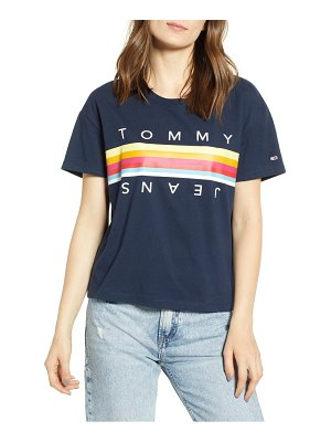 Tommy Jeans multicolor logo tee