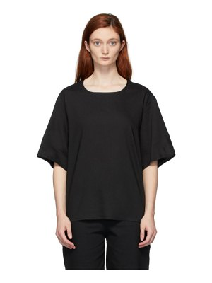 Toogood black the bricklayer blouse