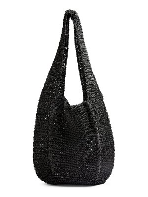 Topshop bali slouchy straw tote