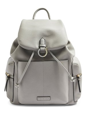 Topshop betty faux leather backpack