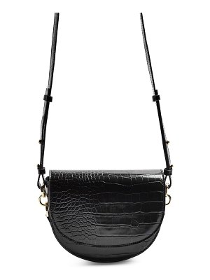 Topshop coby faux leather saddle crossbody bag