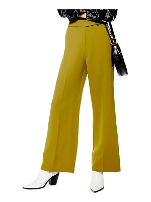 Topshop d-ring wide leg trousers
