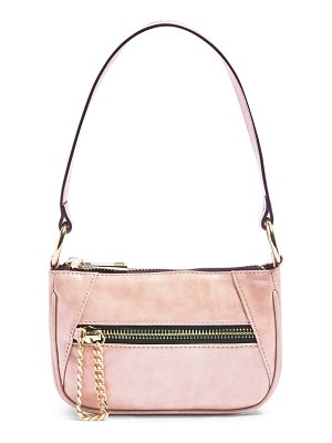 Topshop faux leather shoulder bag
