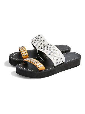 Topshop fierce stud slide sandal