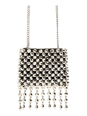 Topshop fringe beaded crossbody bag