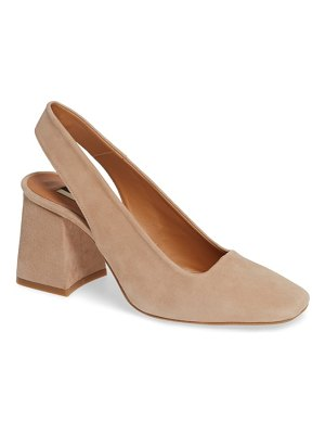 Topshop gainor block heel slingback pump