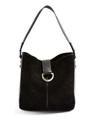 Topshop holly faux leather hobo bag