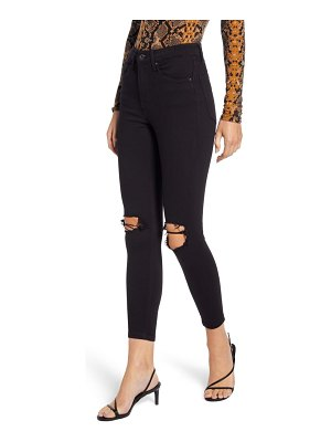 Topshop jamie ripped ankle skinny jeans