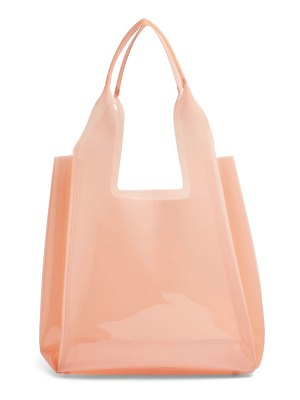 Topshop jelly tote bag