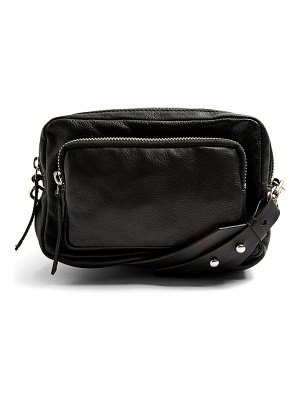 Topshop levi leather crossbody bag