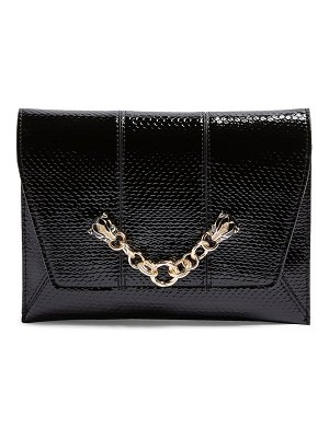 Topshop panther chain clutch crossbody bag