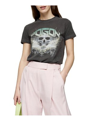 Topshop poison skull graphic tee