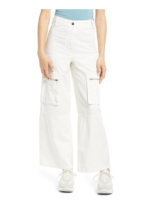 Topshop safra wide leg trousers
