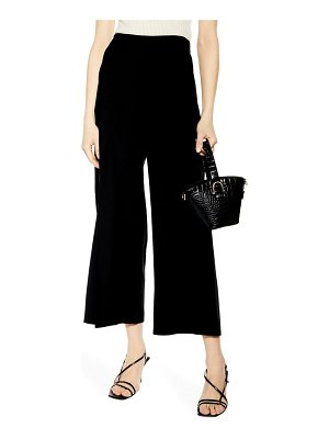 Topshop slash cropped palazzo trousers