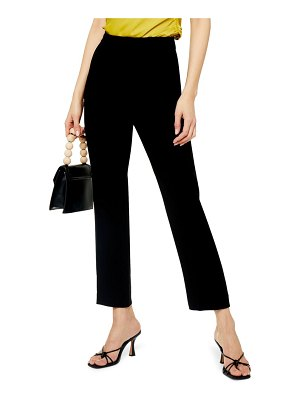Topshop straight leg cigarette pants