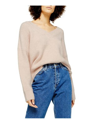Topshop v-neck sweater