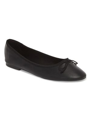 Topshop verity bow ballet flat