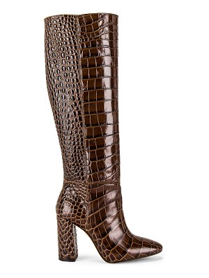 TORAL embossed tall boot