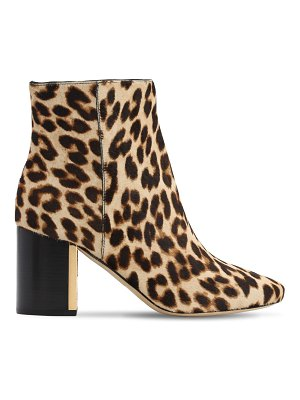 Tory Burch 70mm gigi printed pony skin ankle boots