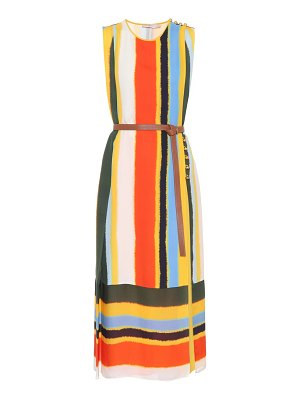 Tory Burch Bettina striped silk dress