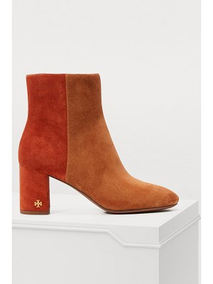 Tory Burch Brooks boots with heels