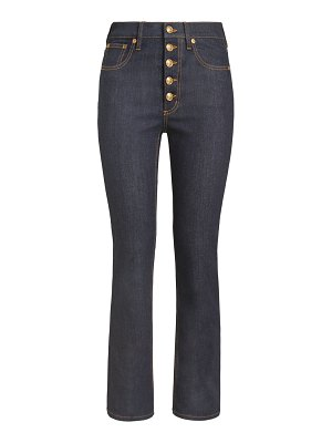 Tory Burch button fly bootcut jeans