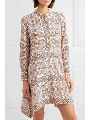 Tory Burch celeste printed silk mini dress