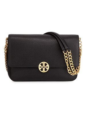 Tory Burch Chelsea Chain-Strap Leather Shoulder Bag